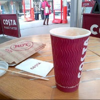 Photo taken at Costa Coffee by Silky C. on 3/22/2012