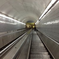 Photo taken at MARTA - Peachtree Center Station by Meghan M. on 7/11/2012