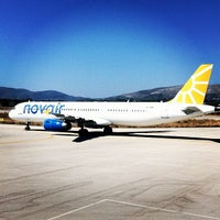 Photo taken at Zakynthos International Airport Dionysios Solomos (ZTH) by Mikael B. on 8/21/2012