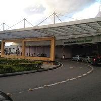 Photo taken at Frederico Ozanam Bus Terminal by Mark F. on 5/7/2012