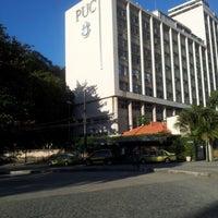 Photo taken at PUC-Rio - Pontifícia Universidade Católica do Rio de Janeiro by Jefferson B. on 8/7/2012