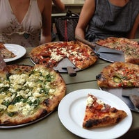 Photo taken at Harvest Pizzeria by Robin on 8/4/2012