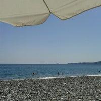 Photo taken at Psaropouli beach by Elena M. on 8/22/2012