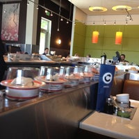 Photo taken at Blue C Sushi by Tom E. on 5/25/2012