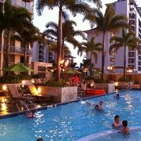 Photo taken at Embassy Suites by Hilton Waikiki Beach Walk by Ryuzy on 8/27/2012