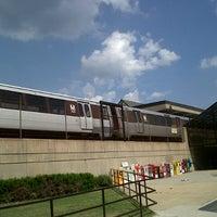 Photo taken at Rockville Metro Station by Satwika W. on 8/4/2012