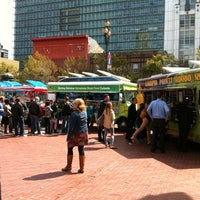 Photo taken at Off the Grid: UN Plaza by Domenic V. on 9/13/2012