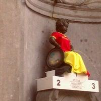 Photo prise au Manneken-Pis / Le Petit Julien par Emeric F. le8/29/2012
