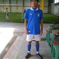 Photo taken at Goedang Futsal by arnierendy d. on 2/18/2012