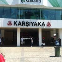 7/7/2012 tarihinde Tuba Y.ziyaretçi tarafından Karşıyaka Vapur İskelesi'de çekilen fotoğraf