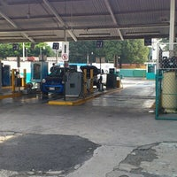 Photo taken at Verificentro Huipulco by Alejandro G. on 6/15/2012