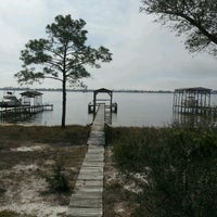 Photo taken at Innerarity Island by Willa L. on 3/17/2012