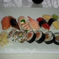 Photo taken at Hanko Sushi by Taisto J. on 2/25/2012