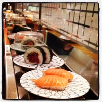 Photo taken at Kulu Kulu Sushi by Craig C. on 3/17/2012