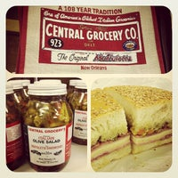 Photo taken at Central Grocery Co. by Jimmy T. on 3/29/2012