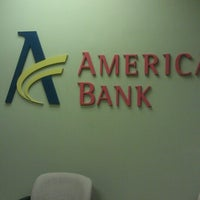 Photo taken at American Bank by Myra C. on 8/3/2012
