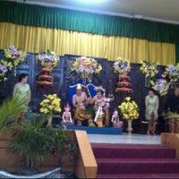 Photo taken at Aula Universitas Tridinanti Palembang by Agnes A. on 6/24/2012