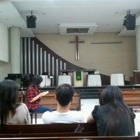 Photo taken at Gereja Kristen Indonesia (GKI) by Laura C. on 8/3/2012