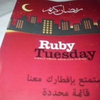 Photo taken at RubyTuesday by Loai M. on 8/9/2012