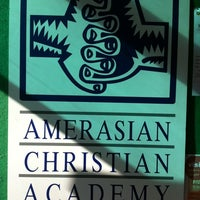 Photo taken at Amerasian Christian Academy by Irina (Ebere) E. on 9/10/2012