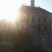 Photo taken at Rathausplatz Weitra by Stefan D. on 4/12/2012