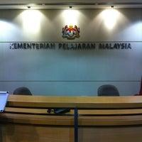 Photo taken at Kementerian Pendidikan Malaysia (KPM) by Zakie Z. on 3/15/2012
