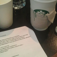 Photo taken at Starbucks by Nour A. on 2/14/2012