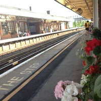 Photo taken at Brockenhurst Railway Station (BCU) by Chris T. on 8/10/2012
