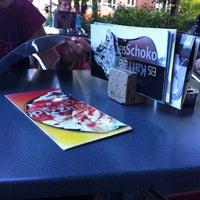 Photo taken at Eiscafe Santaniello by Peter B. on 8/1/2012