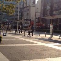 Photo taken at 品川駅港南口バスターミナル by BJ Y. S. on 2/22/2012