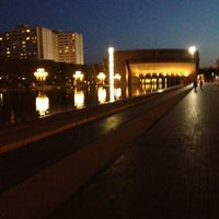 Photo taken at Christian Science Reflecting Pool by Leah B. on 4/20/2012