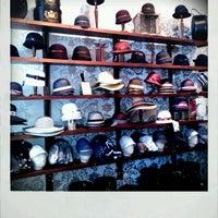 Photo taken at Goorin Bros. Hat Shop - French Quarter by Lauren G. on 4/13/2012