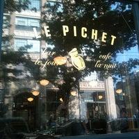 Снимок сделан в Le Pichet пользователем Nick L. 8/10/2012