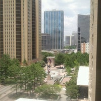 Photo taken at Hyatt Place Atlanta/Downtown by Fat DaddyBoogie on 7/8/2012