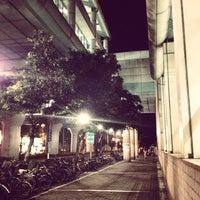 Photo taken at MRT Liuzhangli Station by Chris Y. on 7/6/2012