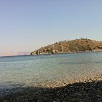 Photo taken at Yeşim Beach & Restaurant by Nazlı on 8/5/2012
