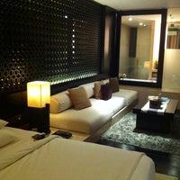 Photo taken at Anantara Seminyak Bali Resort & Spa by narae r. on 3/15/2012