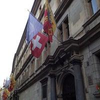 Photo taken at Hôtel de Ville / Town Hall by Andrey M. on 7/26/2012