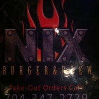 Photo taken at NIX Burger & Brew by Chris B. on 6/23/2012