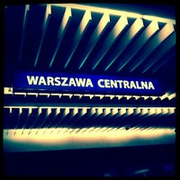 Photo taken at Warsaw Central Railway Station by Paweł O. on 2/5/2012