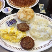 Photo taken at Waffle House by Allen R. on 4/28/2012