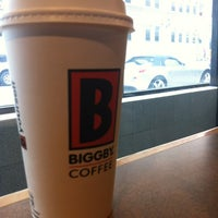 Photo taken at BIGGBY COFFEE by Jim W. on 3/28/2012