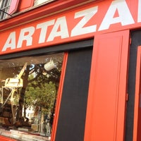 Photo taken at Artazart Design Bookstore by Dalia S. on 8/18/2012