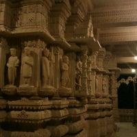 Photo taken at Swaminaryan Mandir by Vishal D. on 3/21/2012