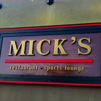 Photo taken at Mick's Restaurant & Sports Lounge by Gerald H. on 6/15/2012