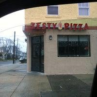 Photo taken at Zesty Pizza by Joe P. on 3/1/2012