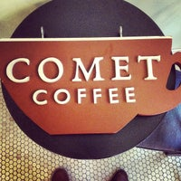 Photo taken at Comet Coffee by Joshua D. on 5/2/2012