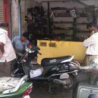 Photo taken at Chheda garage by Shreyax S. on 4/25/2012