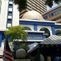 Photo taken at Masjid Jamek IPD Dang Wangi by Acai P. on 7/27/2012