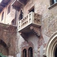 Das Foto wurde bei Casa di Giulietta von Agata J. am 3/3/2012 aufgenommen